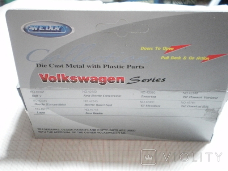 Модель автомобиля Volkswagen Beetle, фото №3