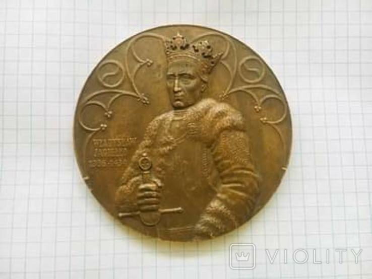 Настольная медаль Владислав Ягайло 1386-1434, Грюнвальд 1410г., фото №5