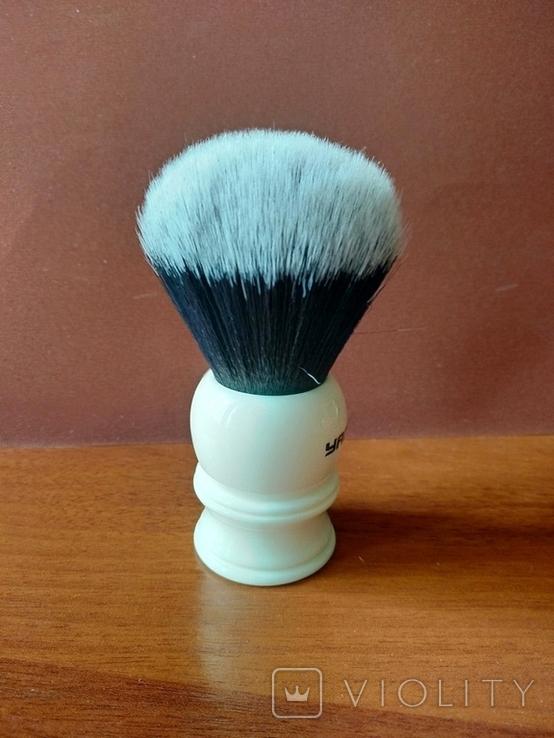 Помазок Yaqi Brush Resin Handle R1729-30. Синтетика., фото №3