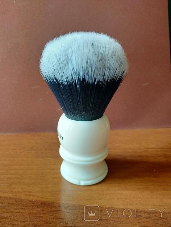 Помазок Yaqi Brush Resin Handle R1729-30. Синтетика., фото №5