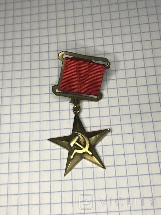 Герой социалистического труда. Копия., фото №2