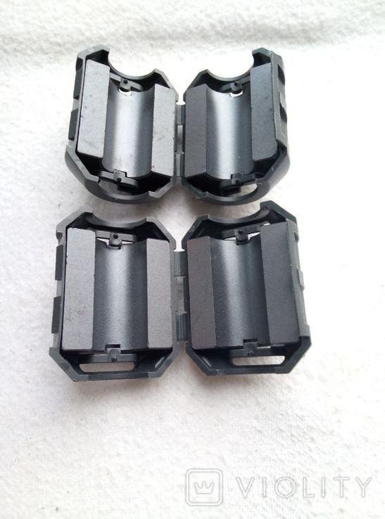 Ферритовый фильтр Panasonic, новый, пара для сетевых кабелей!, фото №3