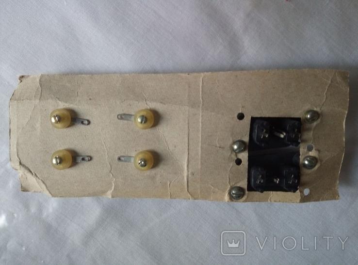 Новый комплект разъемов, RCA и для акустического кабеля! СССР, фото №4