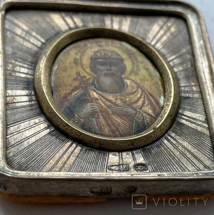 """Икона """"Св. Равноапостольный Князь Владимир"""" 84 пр., фото №4"""