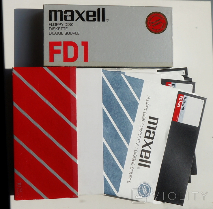"""Дискеты 8"""" дюймов.Maxell.FD-1."""