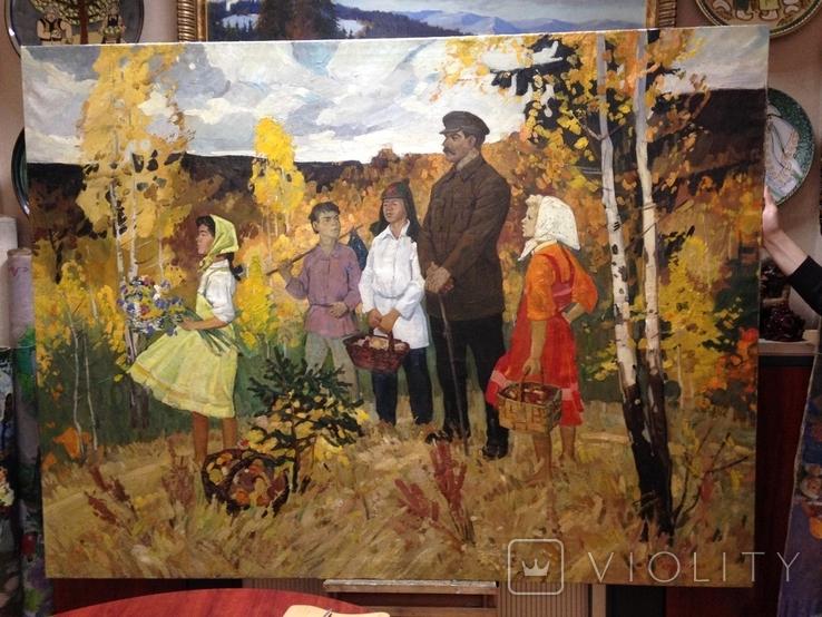 Соцреализм Сталин и дети 1950 е гг., фото №2