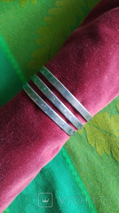 Браслет с серебрением, фото №2