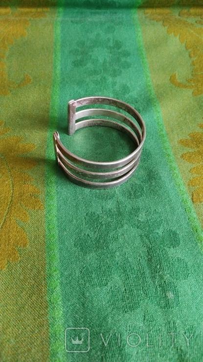 Браслет с серебрением, фото №4