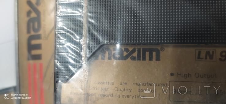 """Аудио касеты """"maxim c 90, """" 4 шт, чистые., фото №8"""