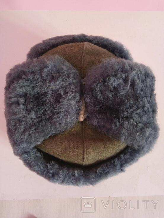 Офіцерська зимова шапка, фото №2