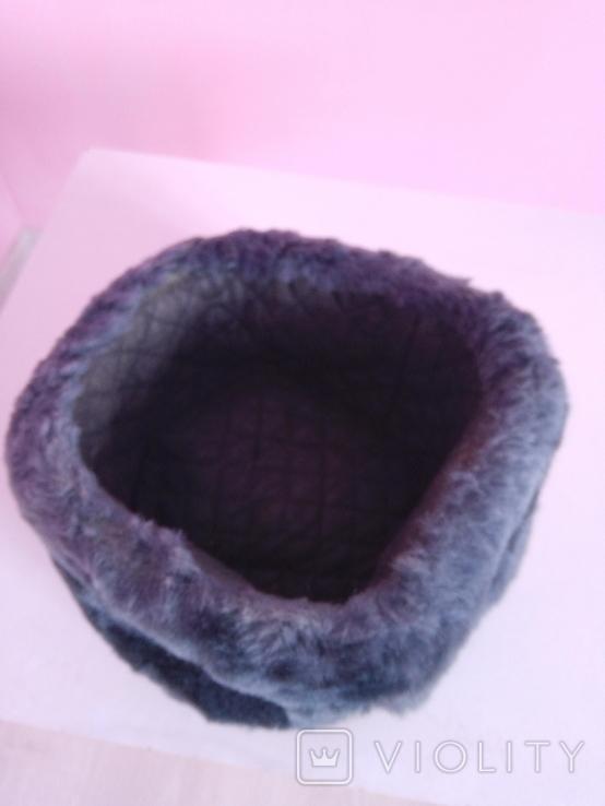 Офіцерська зимова шапка, фото №3