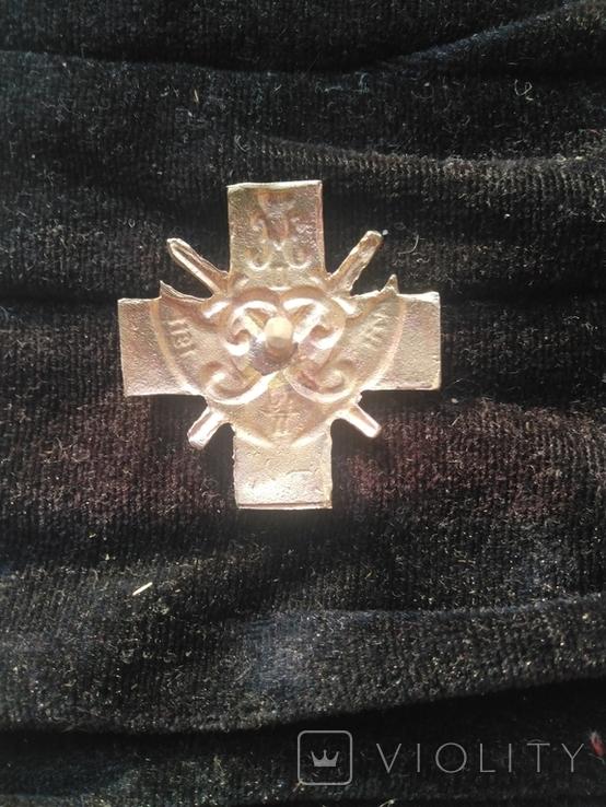 Полковой знак стрелкового полка, копия, фото №3