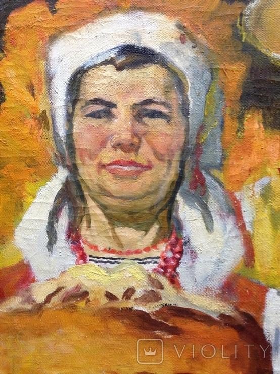 Соцреализм С Хлебом-Солью 1974 г., Беспалов Иван Николаевич (1908-1988), фото №7