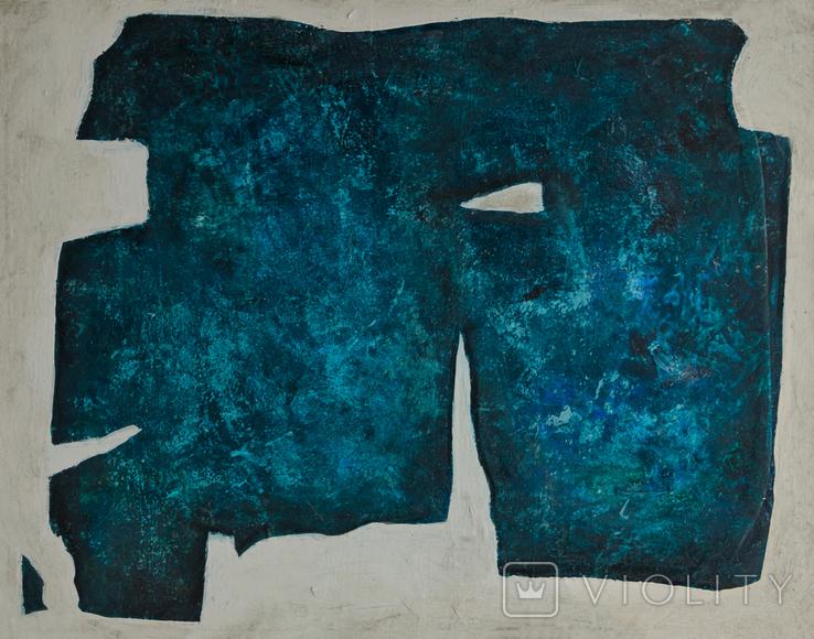 Абстрактная картина, холст, масло, 60х80см, фото №2