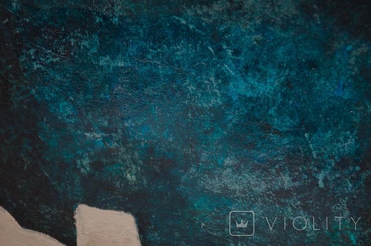 Абстрактная картина, холст, масло, 60х80см, фото №4