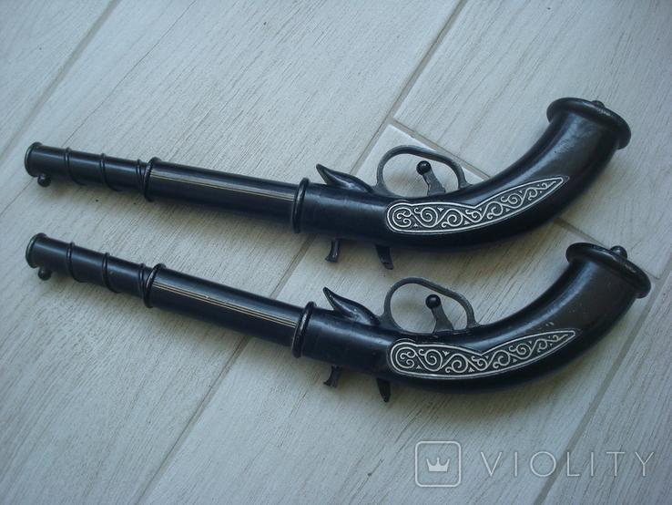Пистолет сувенирный 2 шт., фото №4