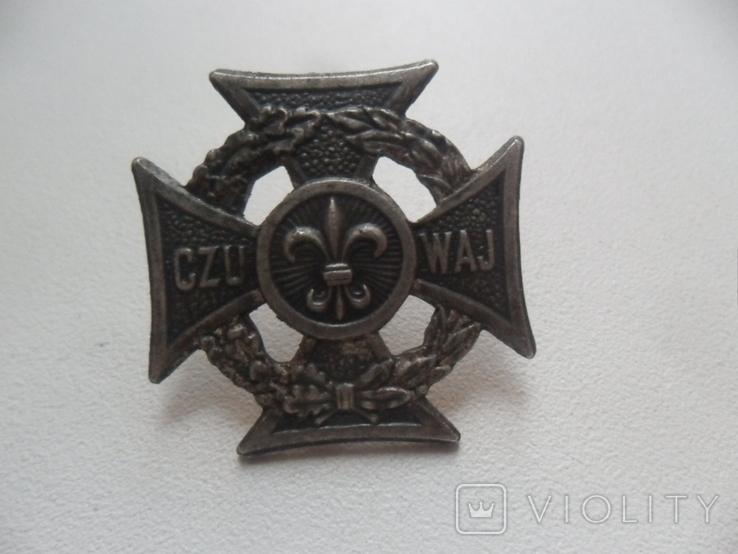 Харцеры, CZU WAJ - Клеймо Mет Н 74, фото №2