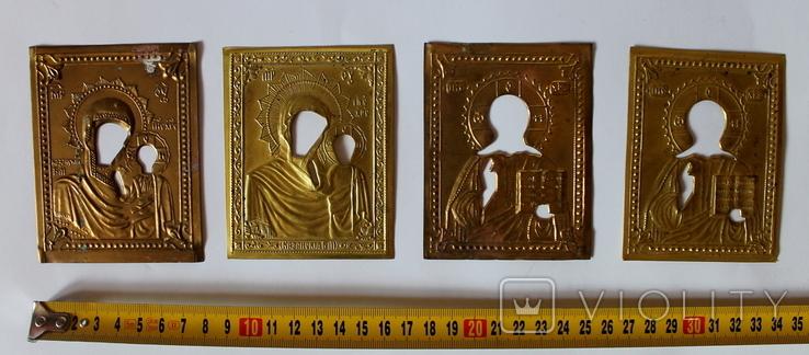 Оклады (7,9 см х 10 см) под реставрацию, фото №2