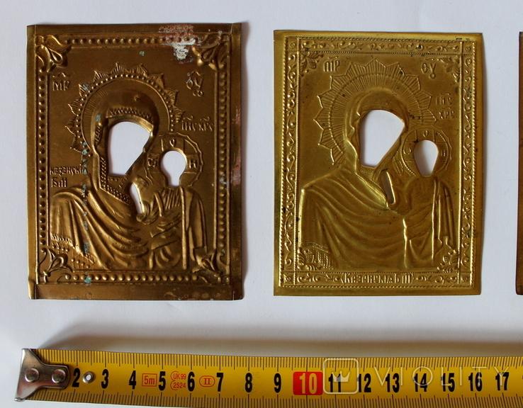 Оклады (7,9 см х 10 см) под реставрацию, фото №3