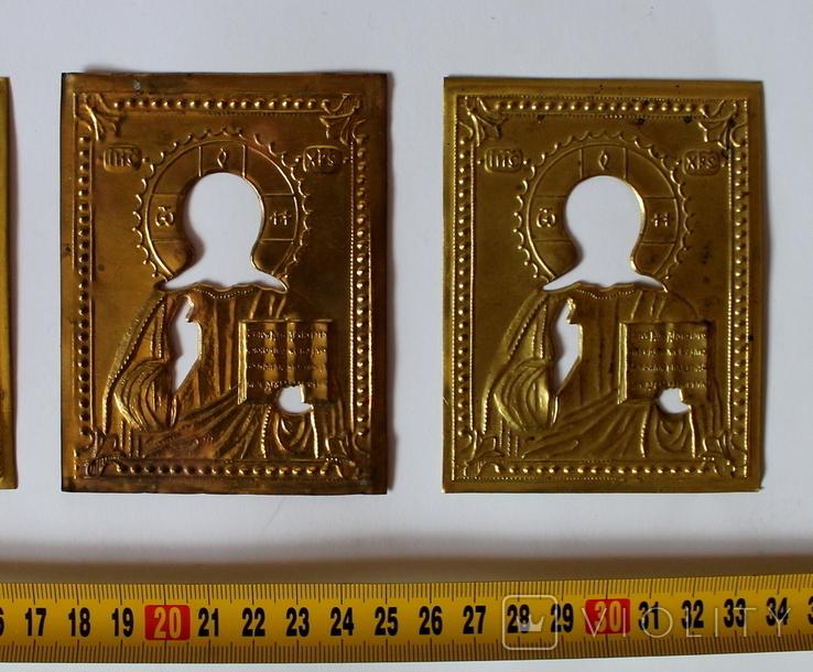 Оклады (7,9 см х 10 см) под реставрацию, фото №4
