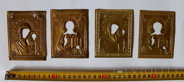 Оклады (7,9 см х 10 см) под реставрацию, фото №6
