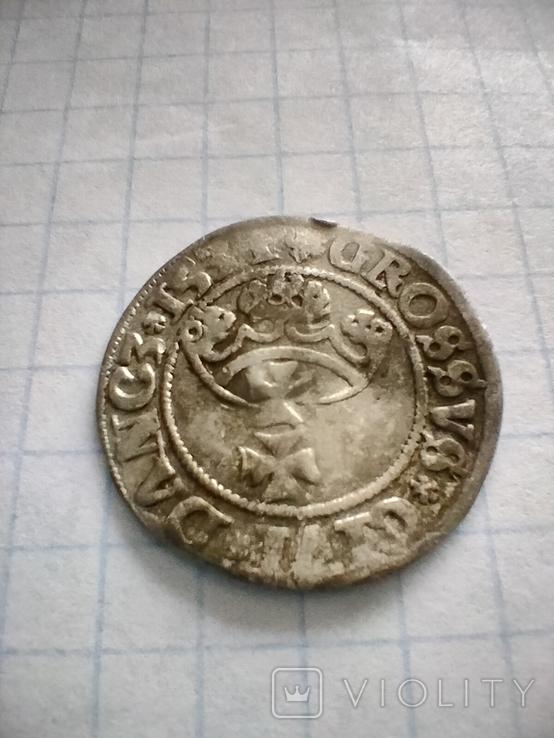 Грош 1534року Сігізмунда 1, старого, Гданськ, фото №3
