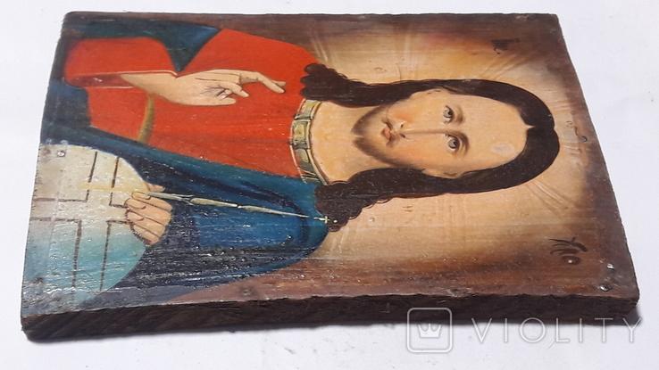Икона Иисуса Хреста.( дерево).2, фото №10