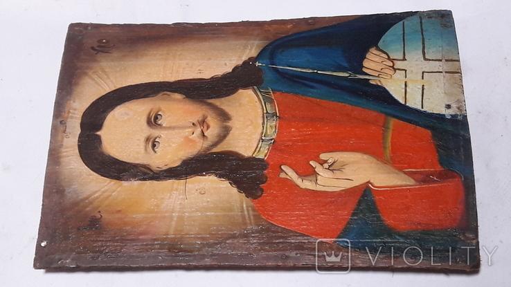 Икона Иисуса Хреста.( дерево).2, фото №11