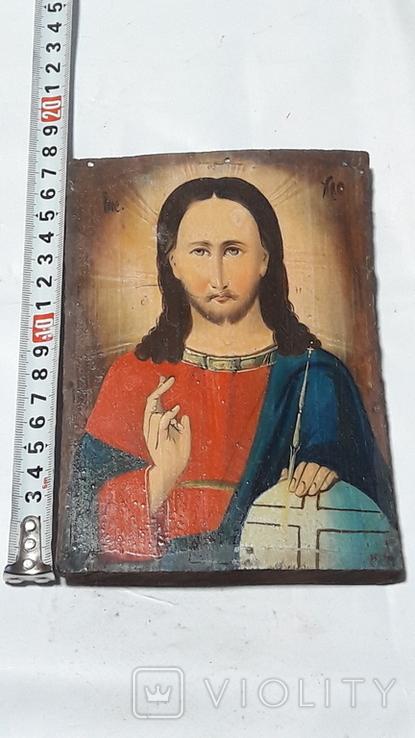 Икона Иисуса Хреста.( дерево).2, фото №12