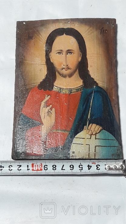 Икона Иисуса Хреста.( дерево).2, фото №13