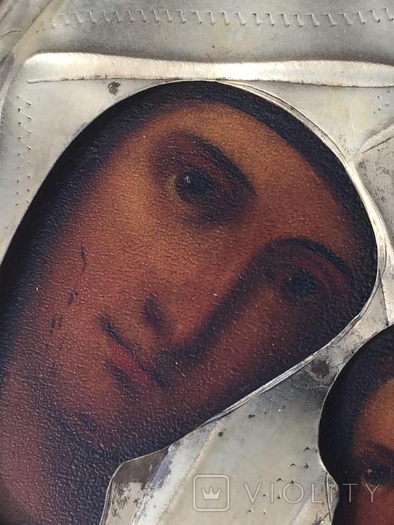 Икона Богородица Иверская, фото №6