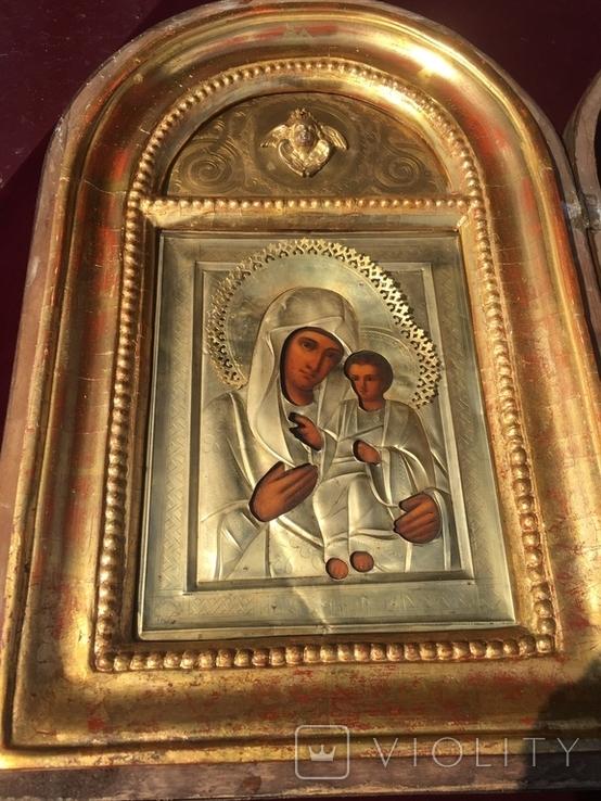 Икона Богородица Иверская, фото №13