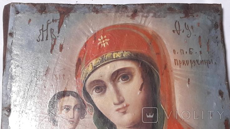 Икона. Присвятой Богородицы. Праворучицы, фото №3