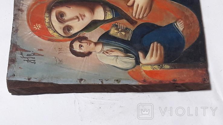 Икона. Присвятой Богородицы. Праворучицы, фото №4