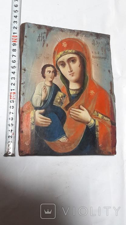 Икона. Присвятой Богородицы. Праворучицы, фото №13