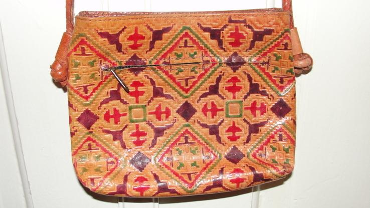Оригинальная сумочка из натуральной кожи, фото №4