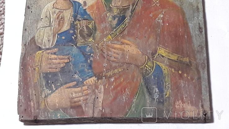 Икона Божьей Матери.(Троеручица), фото №5
