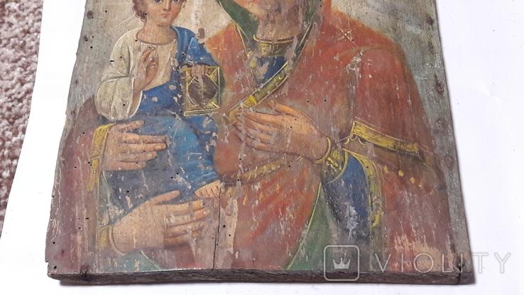 Икона Божьей Матери.(Троеручица), фото №8
