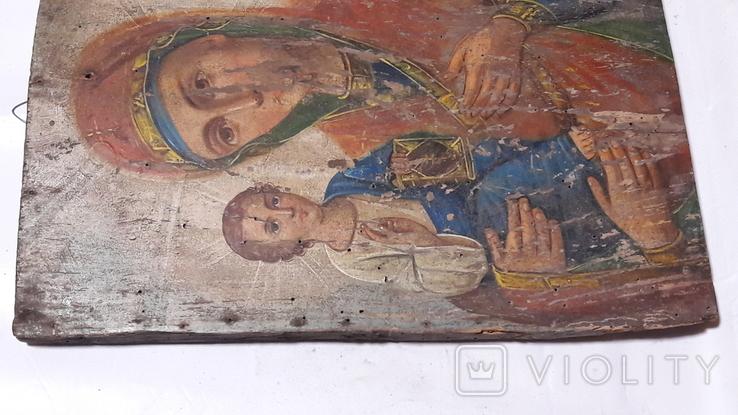 Икона Божьей Матери.(Троеручица), фото №10
