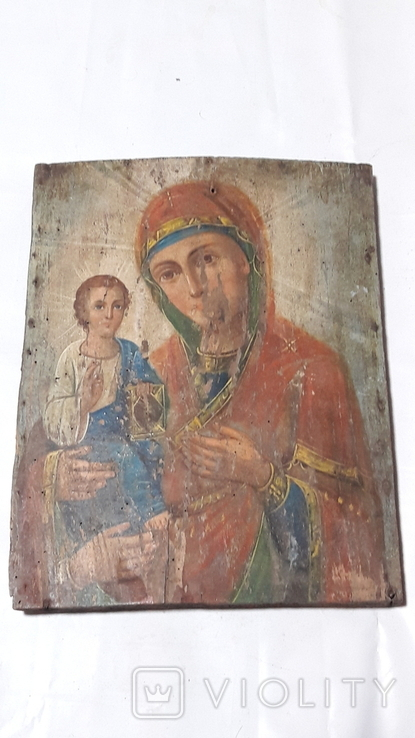Икона Божьей Матери.(Троеручица), фото №2