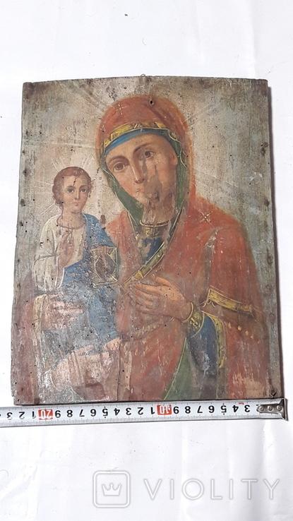 Икона Божьей Матери.(Троеручица), фото №13