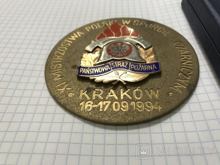 Медаль 11 игры польских пожарных, фото №4