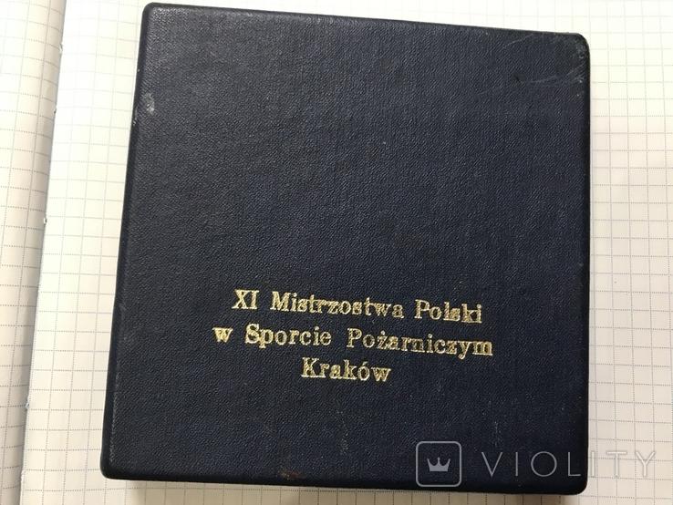 Медаль 11 игры польских пожарных, фото №7