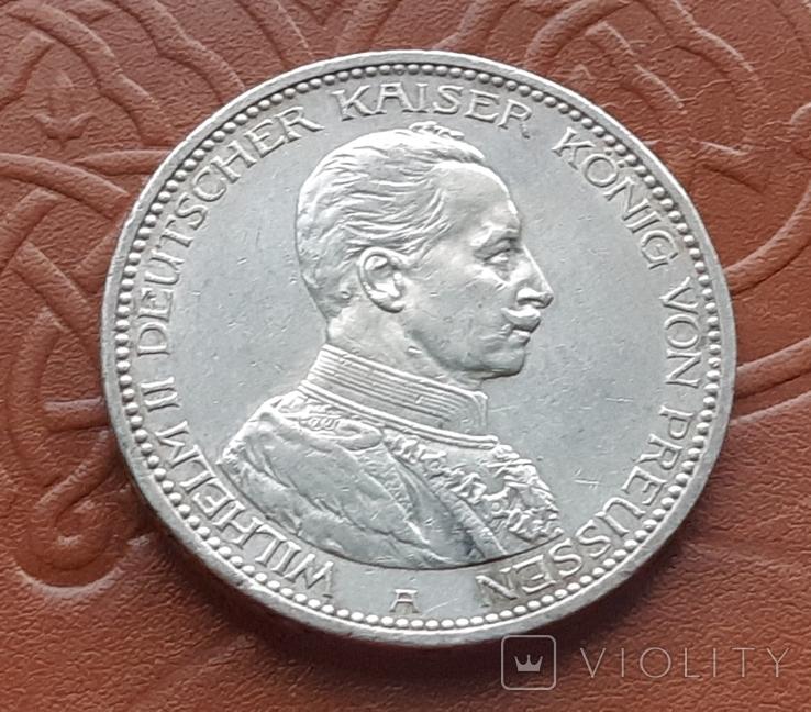 5 марок 1914 Пруссия, фото №3