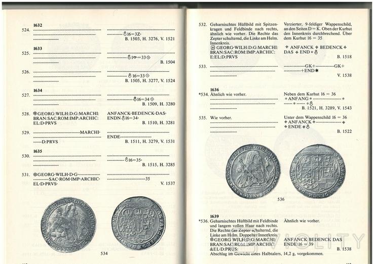 Рідкісний каталог Курт Дост Монети в Пруссії. 1525-1821, фото №6