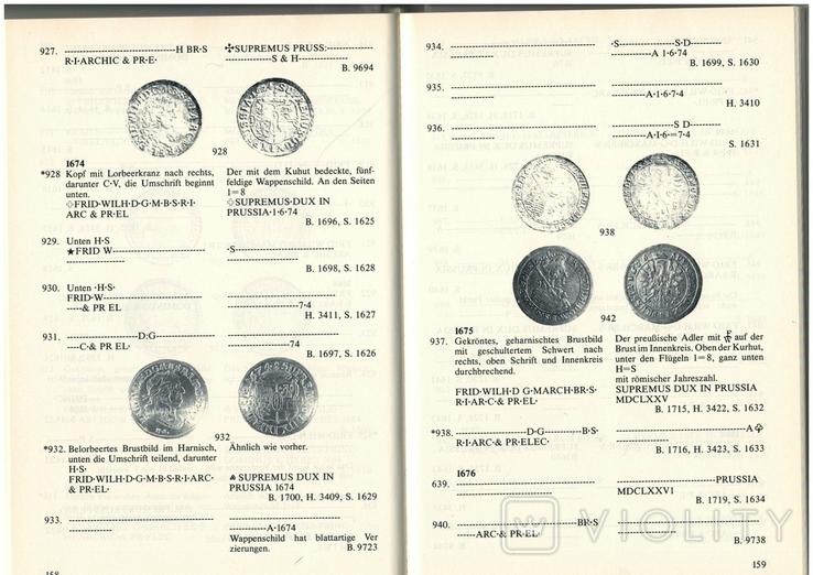 Рідкісний каталог Курт Дост Монети в Пруссії. 1525-1821, фото №8