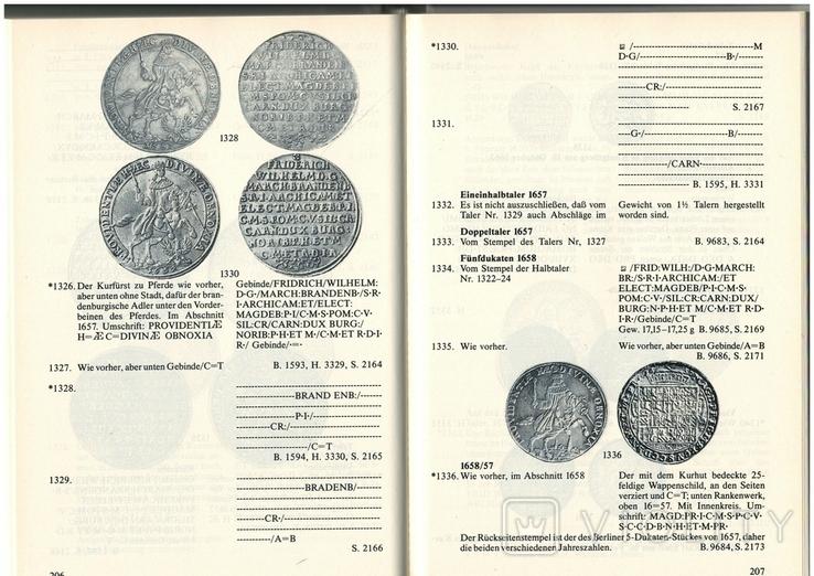 Рідкісний каталог Курт Дост Монети в Пруссії. 1525-1821, фото №9