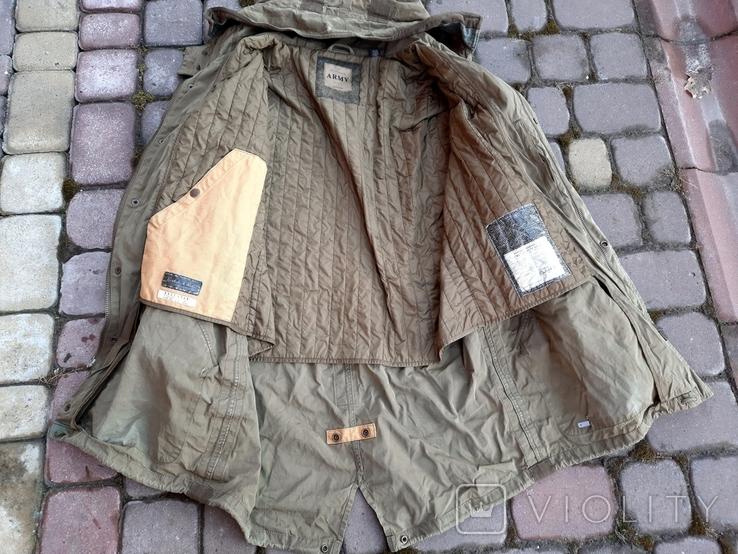 Військовий водонепроникний польовий плащ., фото №3