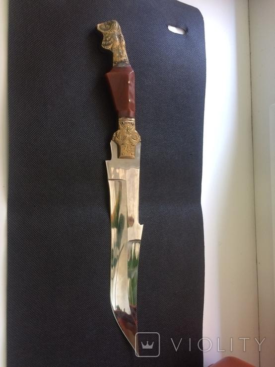 Нож ИТК , Номерной С 53964 , ВТК ( ручна робота) зекпром, фото №5