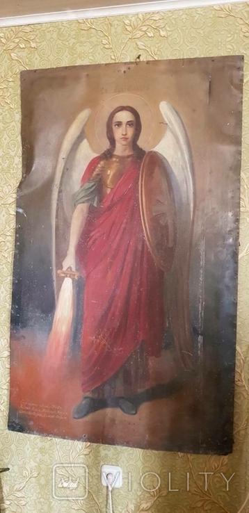 Храмовая большая икона 1800 года, фото №4